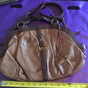 Huge 🔥 leather 🍀 brand wear3 ways